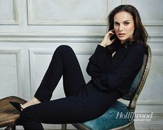Natalie Portman, photographed by Miller Mobley for The Hollywood Reporter, May 15, 2015.