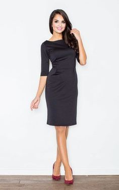Simple black dress for any occasion