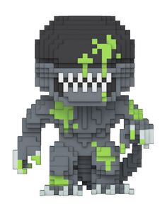 Funko pop. 8 bit. Alien. Exclusive.