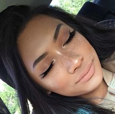 8e70af81e fake freckles · pinterest // .@kjvouge✨ Face Beat, Beat Face Makeup, Kiss  Makeup