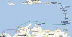 sailingaroundtheglobe blog. currently in the Caribbean. they are living the [my] dream!