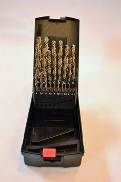Spiralbor sett HSS-CO 1-13mm   ve-import.no leverer bor, kjernebor, magnetbormaskin, varmebøtter, minikjernebor