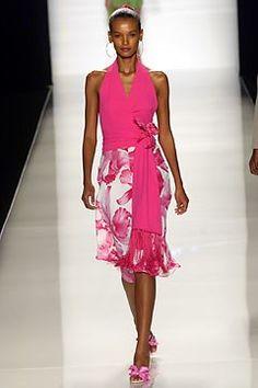 Céline Spring 2004 Ready-to-Wear Fashion Show - Michael Kors, Liya Kebede