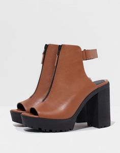 Bershka United Kingdom - Bershka track sandals with heels