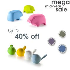Up to 40% off Clocksicle, LittleP, Velce, Anne Black, Plust, Marmotta, ODLA, Peggy current range products. lillyandlolly.com.au