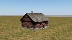 old house 3 – free 3D model ready for CG projects. Available formats: 3D Studio (.3ds), 3D Studio Max (.max), OBJ (.obj), Autodesk FBX (.fbx), DXF (.dxf), Other, Textures