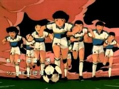 Super Campeones - Intro Opening 1 (Español latino) Captain Tsubasa, Boys Who, Cartoon Network, Bleach, Soccer, Football, Retro, Children, Caricatures