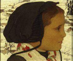 filette valaisanne by Ernest Bieler