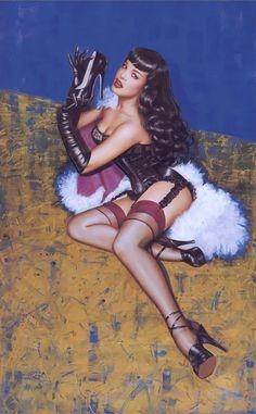 Betty Page by (Olivia de Berardinis ??)