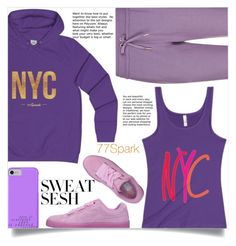 Sweat Sesh: Gym Style (19) by samra-bv on Polyvore featuring polyvore, мода, style, EA7 Emporio Armani, Puma, fashion and clothing