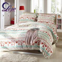 Fancy Christmas Bedding Set Rustic Floral Velvet Duvet Cover Set Designer Leopard Print Bed Set