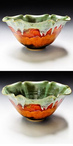 Autumn Harvest bowl from Lee Wolfe Pottery