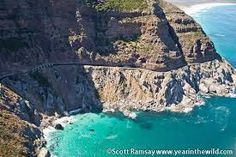 chapman's peak drive - Google Search Beautiful Roads, The Beautiful Country, South Afrika, Tomorrow Is Another Day, Cape Town South Africa, Out Of Africa, Zimbabwe, Continents, Road Trips