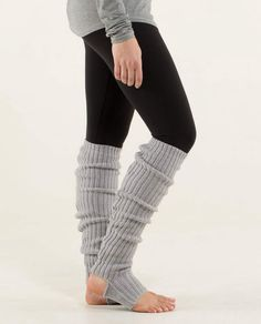 Lululemon leg warmers....too cute, not on Christmas list, i just though they were kind of fun and craaazzyyy