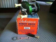 Vintage Shakespeare Fishing Reels | Details about Vintage Shakespeare Direct Drive, Fishing Reel, Model PK ...
