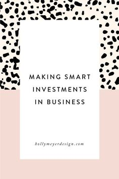 Investing in your business is a fine art. Invest too much and you have no profit, invest too little and your business never grows.