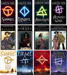 Garth Nix is an amazing writer. I love the Abhorsen trilogy. Lirael and Sabriel are two of my favorite protagonists.
