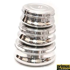 Primus Steel Round Food Container Set of 3 Pcs Buy Kitchen, Kitchen Items, Kitchen Utensils, Kitchen Appliances, Kitchen Storage Containers, Food Containers, Stainless Steel Containers, Kitchenware, Tableware