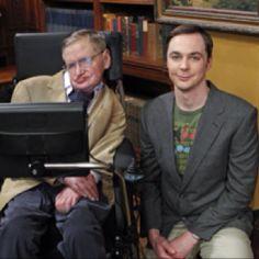 Dr. Steve Hawkins & Dr. Sheldon Cooper