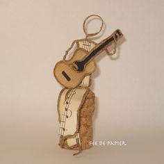 Fée de papier : le guitariste - Technique by epistyle.blogspot.fr