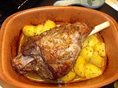 Arni me Patates sto Fourno: Greek Roast Lamb with Potatoes | Cooking in Sens