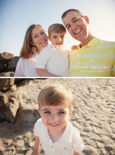 Beach family session. Beautiful family, beautiful color.