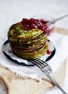 Spinach pancakes Finland #Finnishfood