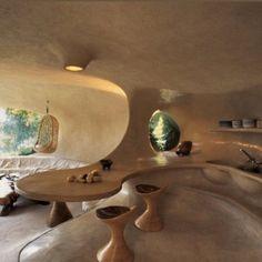 Organic Architecture, Interior Architecture, Pavilion Architecture, Residential Architecture, Contemporary Architecture, Dream Home Design, House Design, Earthship Home, Earthship Design