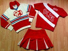 Other Vintage Sports Memorabilia Oregon City High School, Cheerleading Uniforms, Cheer Skirts, Basketball, Wool, Best Deals, Sports, Ebay, Shopping