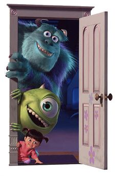 *SULLY, MIKE & BOO ~ Monsters Inc, 2001