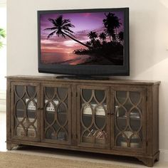 aberdeen media console august grove rachael tv