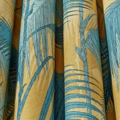 Cole and Son Palm Jungle Stof Linnen - Luxury By Nature Cole And Son, Sons, Palm, Fabrics, Contemporary, Luxury, Nature, Collection, Tejidos