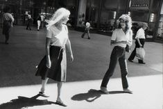 Available for sale from Fraenkel Gallery, Garry Winogrand, Untitled Gelatin silver print, 14 × 17 in Fine Art Photography, Street Photography, Vivian Mayer, Garry Winogrand, New York Photographers, Gelatin Silver Print, Human Behavior, The Twenties, Girly
