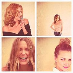 My girl crushes forever. The beautiful ladies from One Tree Hill.