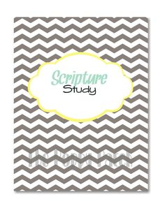 For those of you who know me, you know I love studying the scriptures... Well, now you can study like I do!