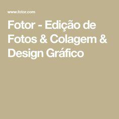Fotor - Edição de Fotos & Colagem & Design Gráfico