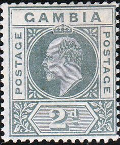 Gambia 1904 King Edward VII Head SG 74 Fine Mint SG 74 Scott 44 Other British Commonwealth Stamps for Sale Here