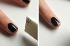 Manicure Monday: Glitter Ombre Nails with Syl and Sam at LuLus.com!