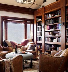 modern library room