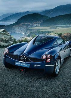 The Pagani Huayra - Super Car Center Fast Sports Cars, Super Sport Cars, Luxury Car Rental, Luxury Cars, Fancy Cars, Cool Cars, Pagani Huayra, Gt Cars, Sweet Cars