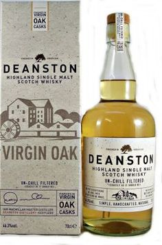 Deanston Virgin Oak Casks Single Malt Scotch Whisky 46.3% 70cl