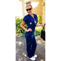 Beautiful Nurse, Off Work, Nurse Life, Jumpsuit, Instagram, Dresses, Fashion, Overalls, Vestidos