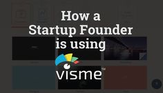 How a Startup Founder is Using Visme to Promote His App? http://itz-my.com
