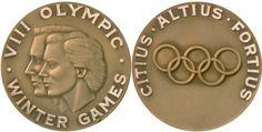 Juegos Olímpicos de Squaw Valley 1960-Medalla