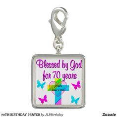 70TH BIRTHDAY PRAYER Enjoy our uplifting and inspiring selection of 70th birthday jewelry. 15% Off Sitewide Use Code: BESTBIZCARDZ http://www.zazzle.com/jlpbirthday/gifts?cg=196361917885490522&rf=238246180177746410  #70thbirthday #70yearsold #Happy70thbirthday #70thbirthdaygift #70thbirthdayidea #Christian70th  #happy70th