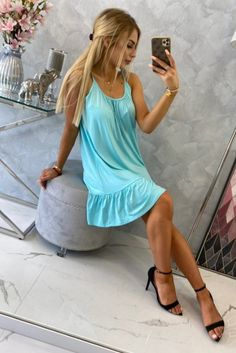 Rochii de vara din in si bumbac Smart Casual, Casual Chic, Chic Outfits, Dresses, Fashion, Casual Dressy, Vestidos, Moda, Fashion Styles