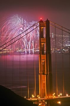 Golden Gate Bridge on the Fourth of July.I want to go see this place one day. Please check out my website Thanks.  www.photopix.co.nz