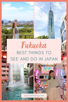 Fukuoka was my favourite city travel experience in Japan! Find out more about what this working Japanese city has to offer, including temples, free shows, and awesome arcades. #fukuoka #kyushu #japan Japan Travel Guide, Asia Travel, Travel Guides, Go To Japan, Visit Japan, Japan Japan, Japan Trip, Kyushu, Beautiful Places In Japan