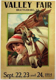 Original Vintage Posters -> Advertising Posters -> Valley Fair, Vermont 1914 - AntikBar