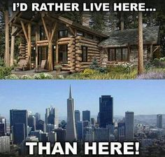 Anybody else prefer living in the country!?